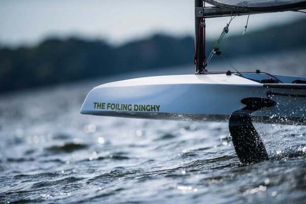 Foiling Dinghy (Foto: © Sören Hese) | Steinlechner Bootswerft, Utting am Ammersee
