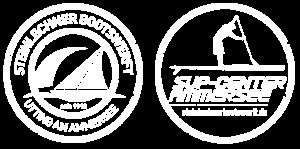 Logo Bootswerft und SUP Center | Steinlechner Bootswerft, Utting am Ammersee
