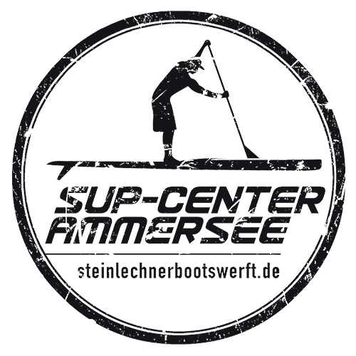 Logo SUP Center | Steinlechner Bootswerft, Utting am Ammersee