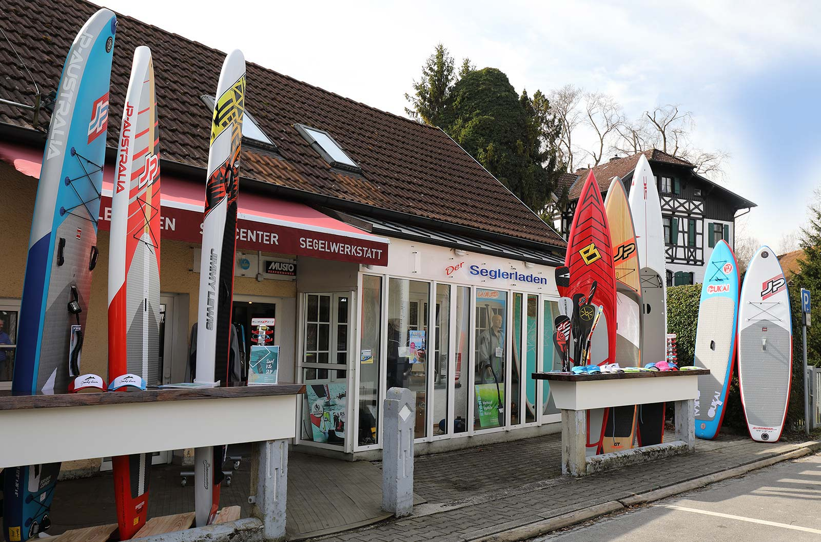 Shop, Seglerladen | Steinlechner Bootswerft, Utting am Ammersee