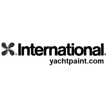 International Yachtpaint Logo | Steinlechner Bootswerft, Utting am Ammersee