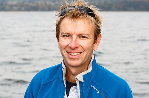 Geschäftsführer Dominik Entzminger | Steinlechner Bootswerft, Utting am Ammersee
