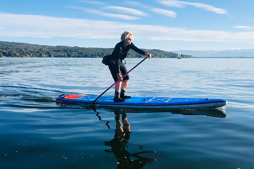 Michaela Schricker, SUP-Trainerin | SUP-Center Ammersee