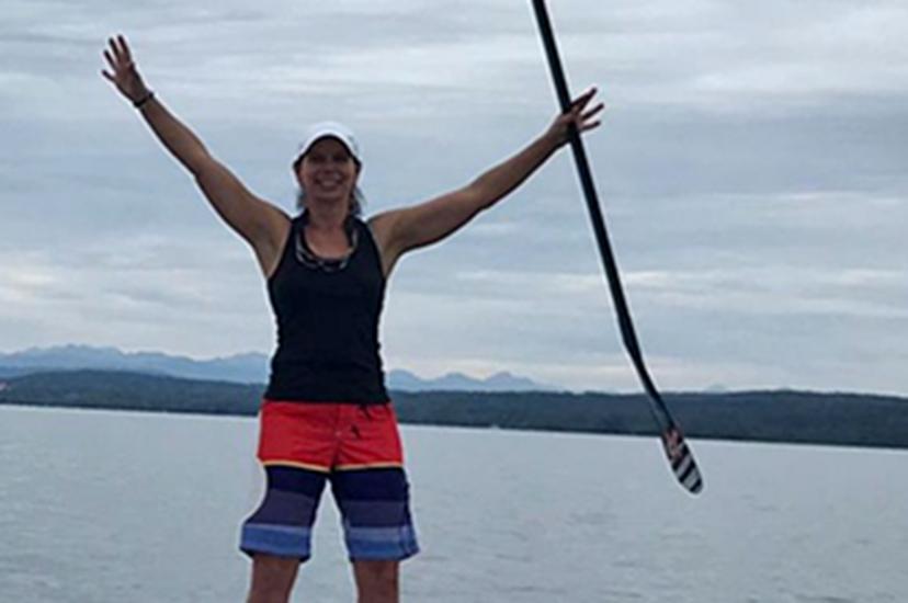 Nicole Reiser, SUP-Trainerin   SUP-Center Ammersee